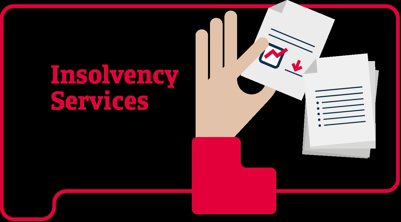 Serviços de insolvência